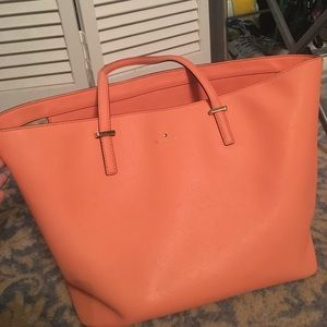 Bright peach color Kate spade